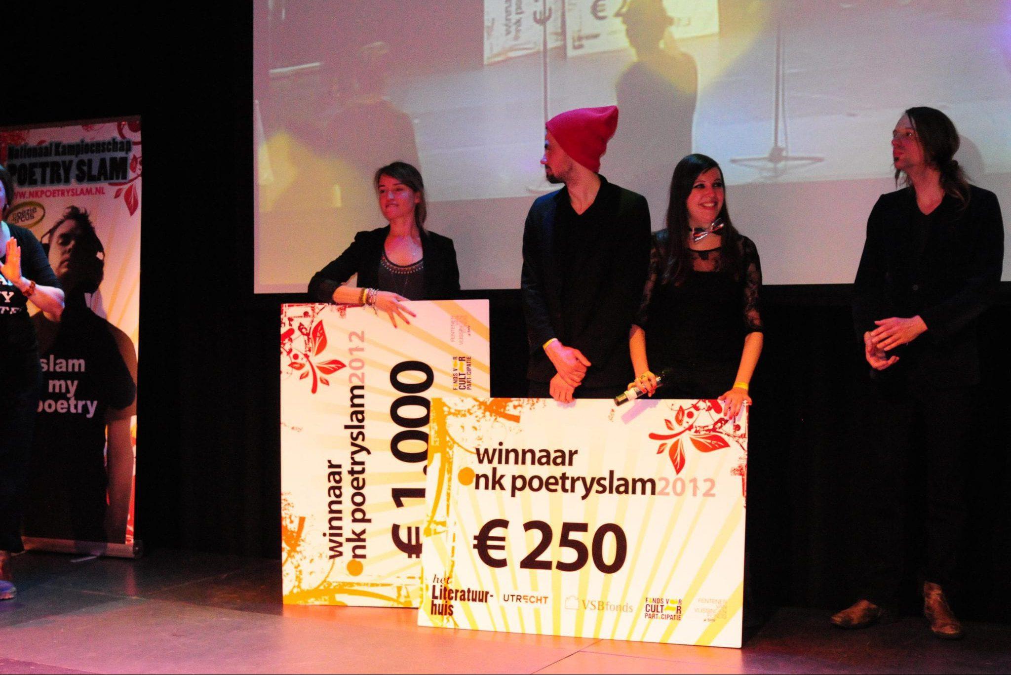 2012: Laura van der Haar
